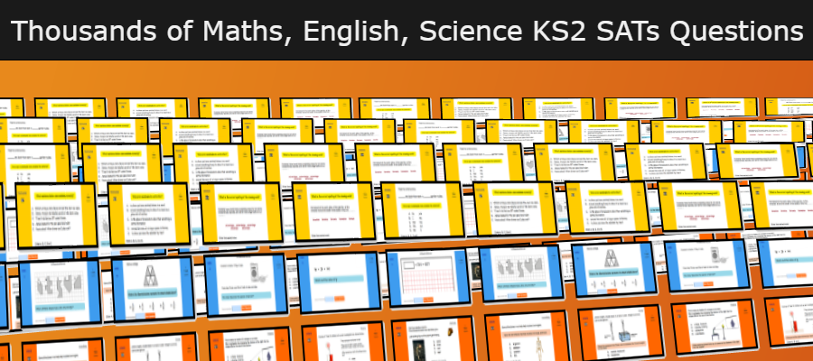 Maths English Science KS2 Questions
