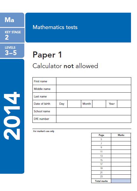 SATs Tests Online